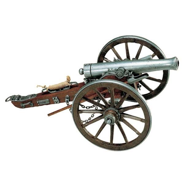 Сделать макет старинной пушки